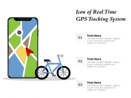 Icon Of Real Time GPS Tracking System
