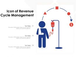 Icon Of Revenue Cycle Management