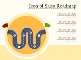 Icon Of Sales Roadmap