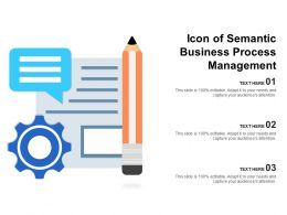 Icon Of Semantic Business Process Management