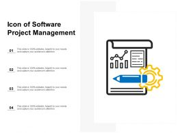 Icon Of Software Project Management
