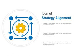 Icon Of Strategy Alignment