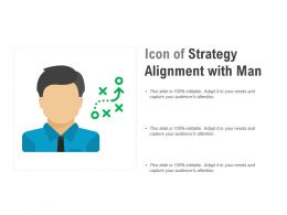 Icon Of Strategy Alignment With Man