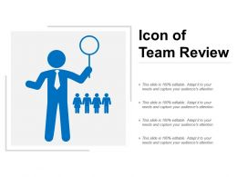 Icon Of Team Review