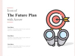 Icon Of The Future Plan With Arrow