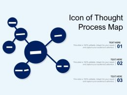 Icon Of Thought Process Map