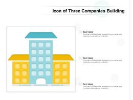 Icon Of Three Companies Building