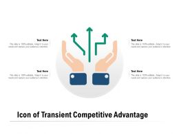 Icon Of Transient Competitive Advantage