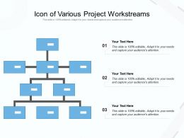 Icon Of Various Project Workstreams