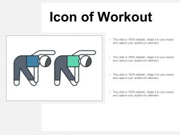 Icon Of Workout
