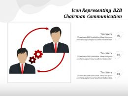 Icon Representing B2B Chairman Communication