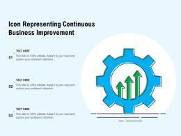 Icon Representing Continuous Business Improvement