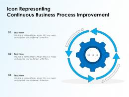 Icon Representing Continuous Business Process Improvement