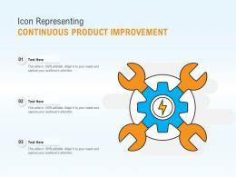 Icon Representing Continuous Product Improvement