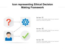 Icon Representing Ethical Decision Making Framework