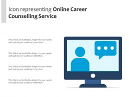 Icon Representing Online Career Counselling Service