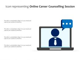 Icon Representing Online Career Counselling Session