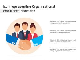Icon Representing Organizational Workforce Harmony