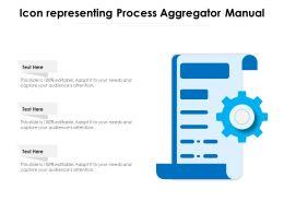 Icon Representing Process Aggregator Manual