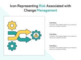 Icon Representing Risk Associated With Change Management