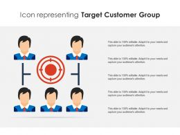 Icon Representing Target Customer Group