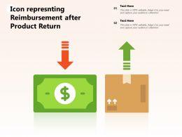 Icon Represnting Reimbursement After Product Return
