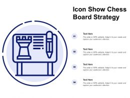 Icon Show Chess Board Strategy