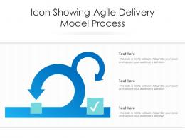 Icon Showing Agile Delivery Model Process