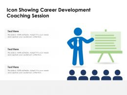 Icon Showing Career Development Coaching Session