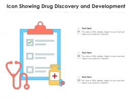 Icon Showing Drug Discovery And Development
