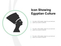 Icon Showing Egyptian Culture