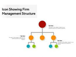 Icon Showing Firm Management Structure