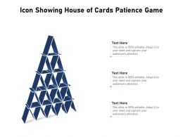Icon Showing House Of Cards Patience Game