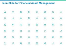 Icon Slide For Financial Asset Management Ppt Powerpoint Presentation Inspiration