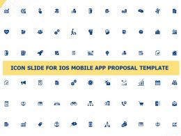Icon Slide For IOS Mobile App Proposal Template Ppt Powerpoint Presentation Background Image