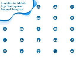 Icon Slide For Mobile App Development Proposal Template Ppt Powerpoint Outline Outfit