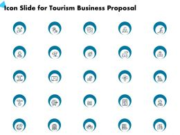Icon Slide For Tourism Business Proposal Ppt Powerpoint Presentation Visual Aids Styles