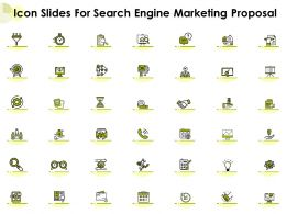 Icon Slides For Search Engine Marketing Proposal Ppt Powerpoint Presentation Images