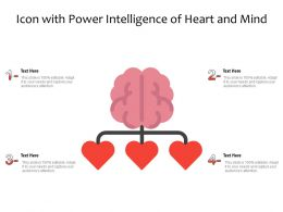Icon With Power Intelligence Of Heart And Mind