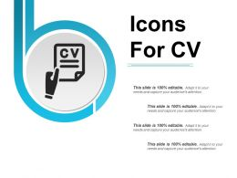 Icons For Cv Powerpoint Images