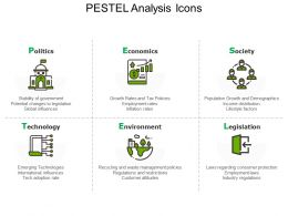 Icons For Pestel Analysis Market Analysis