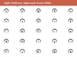 Icons Slide Agile Delivery Approach Ppt Portrait