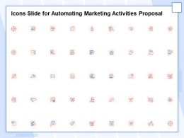 Icons Slide For Automating Marketing Activities Proposal Ppt Inspiration