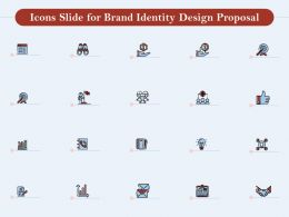 Icons Slide For Brand Identity Design Proposal Ppt Powerpoint Presentation Designs