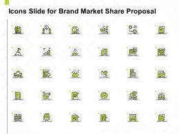Icons Slide For Brand Market Share Proposal Ppt Powerpoint Presentation Aids