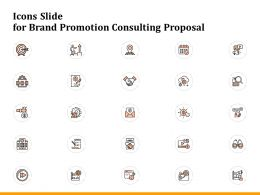 Icons Slide For Brand Promotion Consulting Proposal Ppt Powerpoint Presentation Inspiration Show