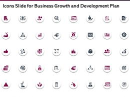 Icons Slide For Business Growth And Development Plan Ppt Powerpoint Slide