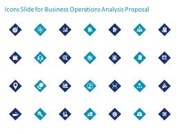 Icons Slide For Business Operations Analysis Proposal Ppt Powerpoint Presentation File