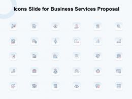 Icons Slide For Business Services Proposal Ppt Powerpoint Presentation Infographic