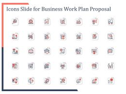 Icons Slide For Business Work Plan Proposal Ppt Powerpoint Presentation Objects